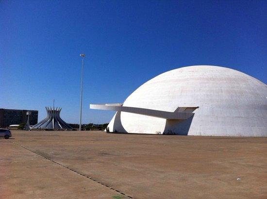 Museu Nacional da Republica: Museu Nacional de Brasília