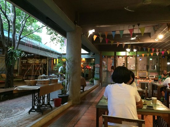 Phranakorn-Nornlen Hotel: Breakfast