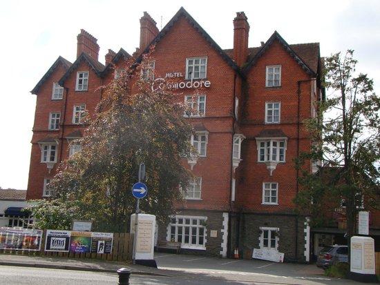 Hotel Commodore: frente do hotel