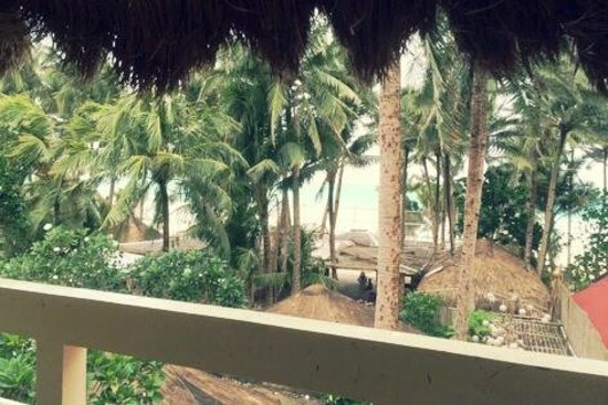 Sea Wind Boracay Island: View from the balcony..