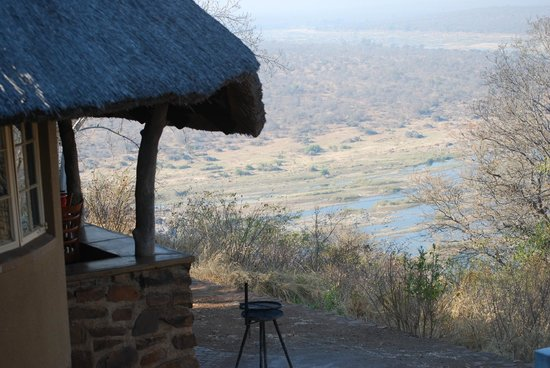Olifants Rest Camp : View from the rondavel