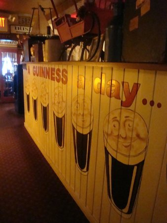 May Kelly's Cottage Restaurant and Pub: Guinness