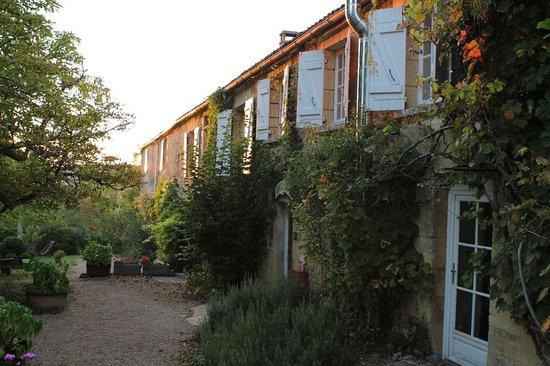 Hotel de Charme La Maison des Peyrat : Sun setting just as I arrived