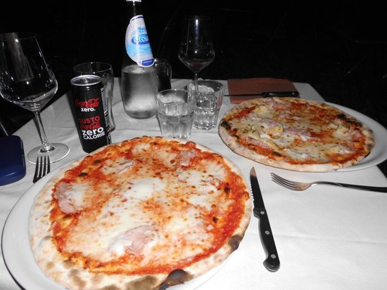 Pizzeria Ristorante Al Carmine : Cena para dos