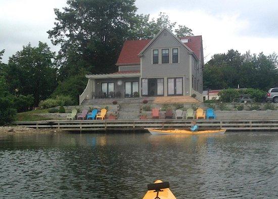 The Dunlop Inn: View from my kayak