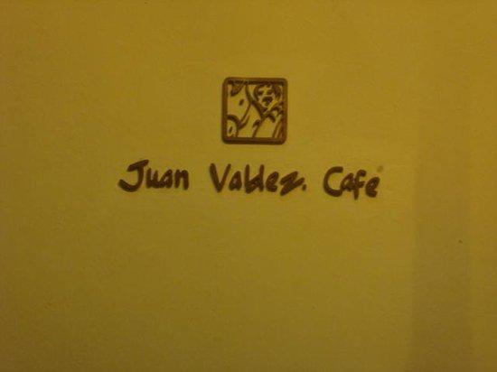 Juan Valdez Cafe: detalhe