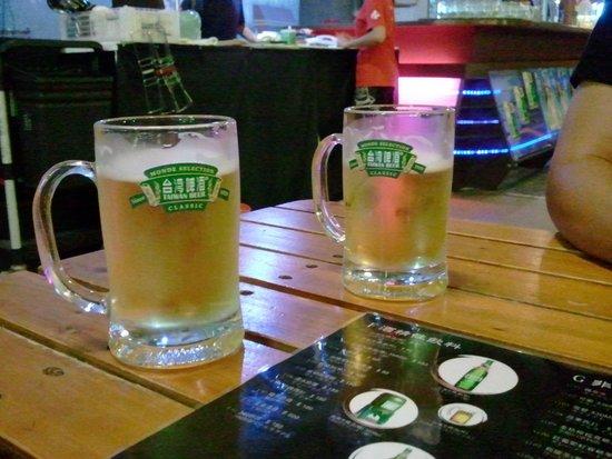 Taipei Brewery : 生ビール
