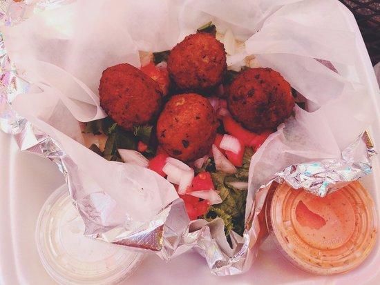Zunzi's Take Out : i dream about this falafel.