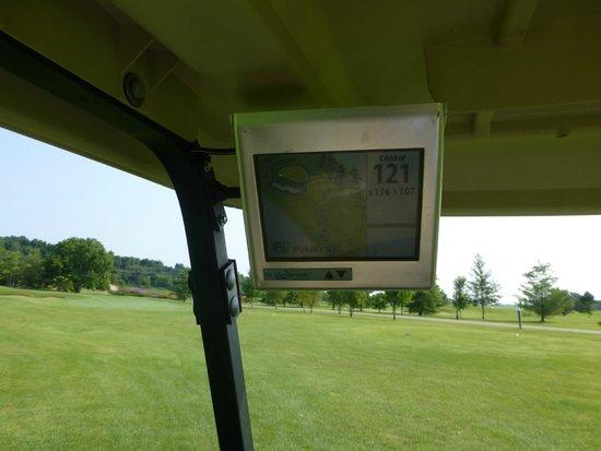 Hawks View Golf Club: Golf carts with GPS