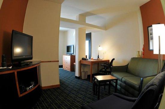 Fairfield Inn & Suites Fresno Clovis: Executive King Suite