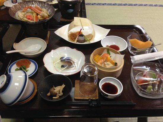 Tashiro Annex: 夕食 dinner(traditional japanese style)