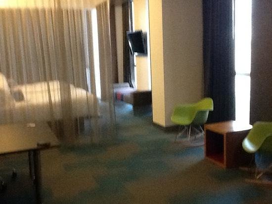 Aloft Orlando Downtown : wow again....room is huge