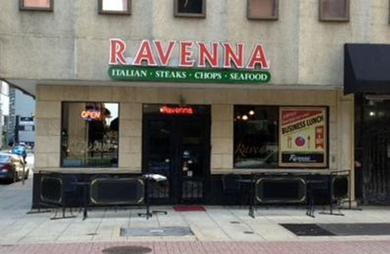 Ravenna Urban Italian Restaurant Outside