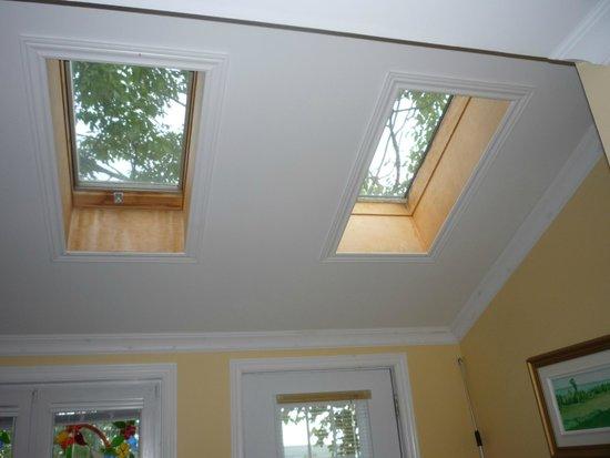 The Worn Doorstep : skylight windows