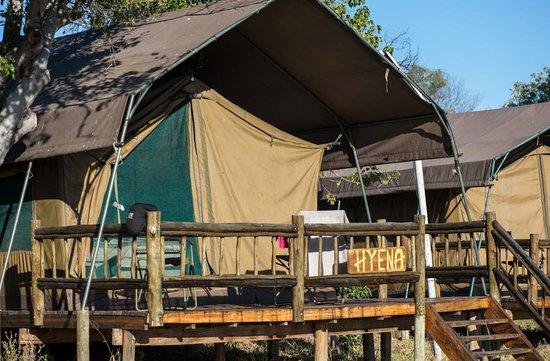 Third Bridge C&site Hyena Tented C& & Hyena Tented Camp - Picture of Third Bridge Campsite Moremi Game ...