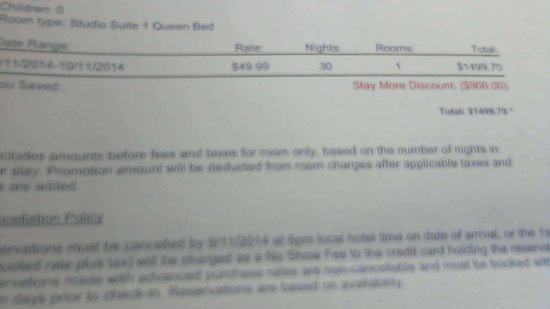 Extended Stay America - Tampa - Airport - Spruce Street : EST at Spurce st having to file complaint to BBB and consumer affairs. Terrible regional and hot