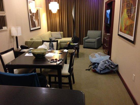 Staybridge Suites Las Vegas : メインルーム