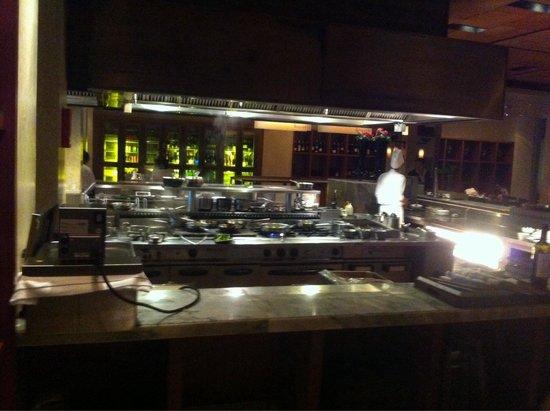 Open kitchen @ Biscotti