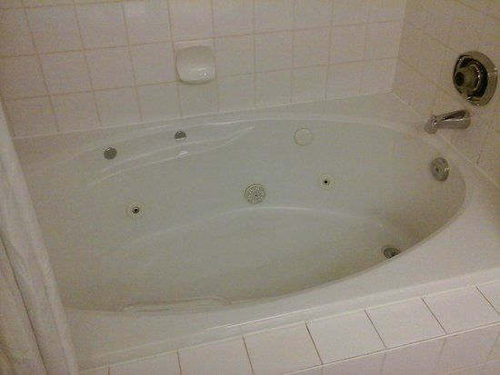 Executive Suites Hotel Burnaby: tub