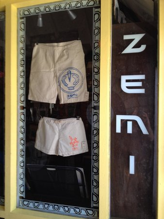 Zemi Art Gallery: Something new. Male and female shorts