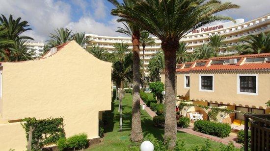 Playamar Bungalows: Вид с балкона