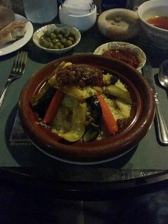 Tajine Restaurant : Couscous Royale