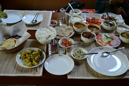 Banasura Hill Resort: Dinner