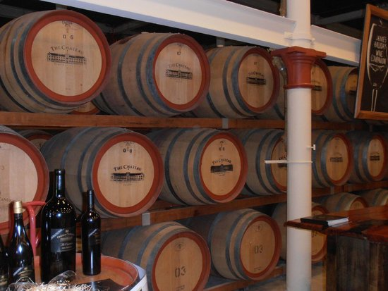 Chateau Tanunda: Inside the tasting room