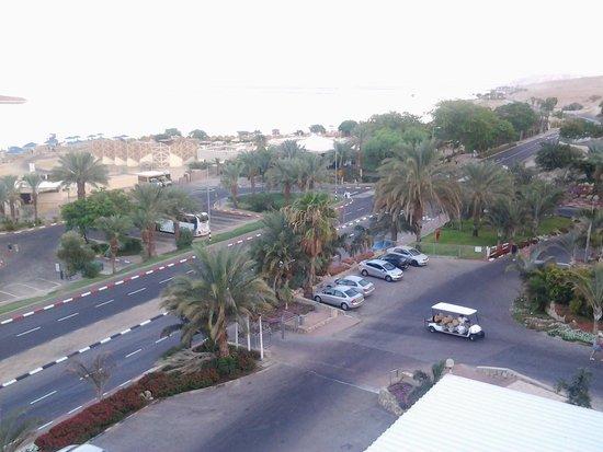 Prima Oasis Dead Sea: from room window