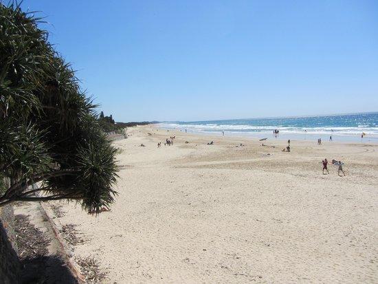 Sundeck Gardens : nice clean beach across quiet road