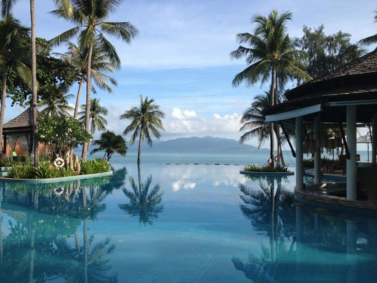 Melati Beach Resort & Spa: The Melati pool by the beach