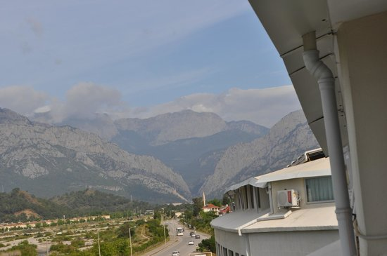 Daima Biz Hotel: вид с балкона