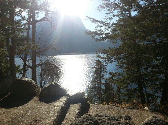 Jenny Lake: Масштабы поражают