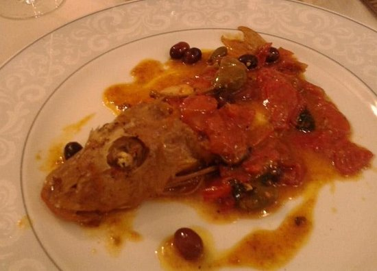 Ristorante Con Pizza Belvedere Scerman: gallinella