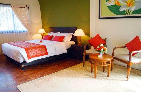 Puri Dewa Bharata Hotel & Villas: Upstairs Villa
