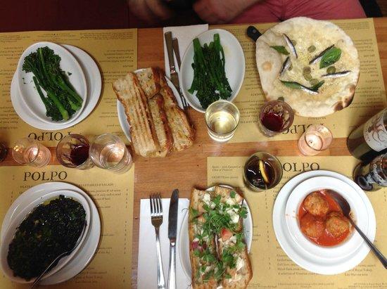 Polpo Soho: Lunch at Polpo