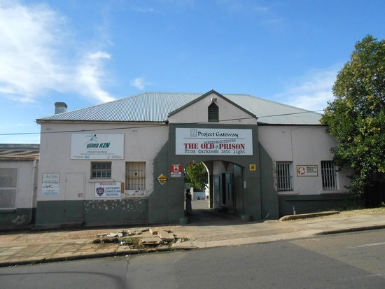 Pietermaritzburg, South Africa: The main entrance