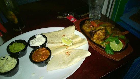 Swanky Franks: Vegetarian Fajitas