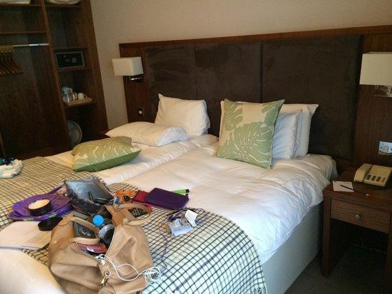 BEST WESTERN PLUS Edinburgh City Centre Bruntsfield Hotel: Fluffy beds