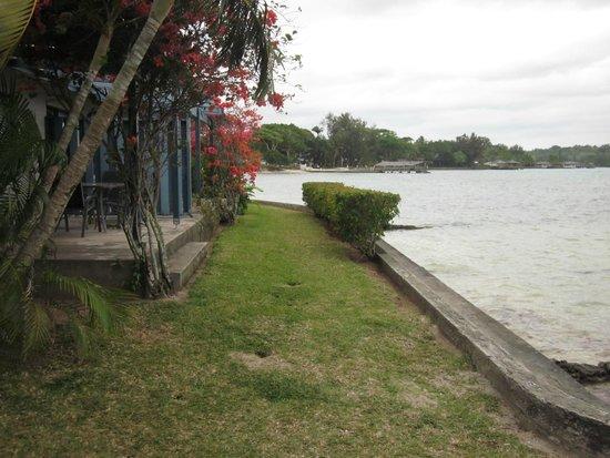 Pacific Lagoon Apartments: Units 5 and 6, Lagoon-facing apartments