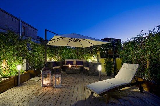 Villa San Lorenzo Maria Hotel: Roof Garden