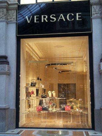 Ibis Milano Ca Granda: Versace store, Milan