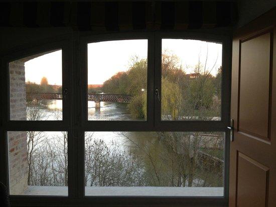 Au moulin des ecorces : Fantastic view from the Suite........