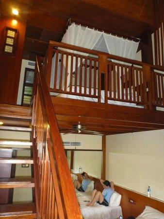 Melia Bali: our family room