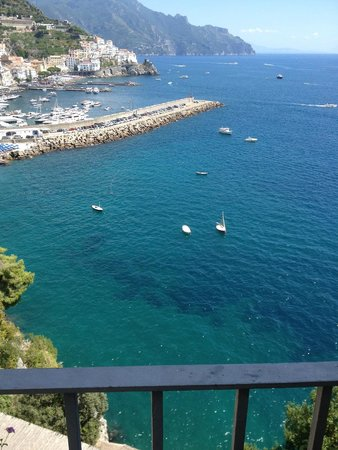 Miramalfi Hotel: view from the room
