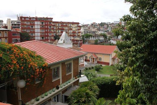 La Varangue : Aussicht auf Tana und das Hotel Colbert