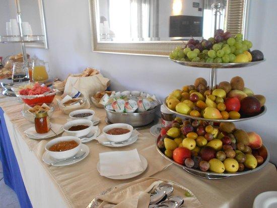 Hotel Baglio di Scopello: Una parte della colazione