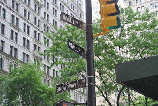 Wall Street Walks: указатель