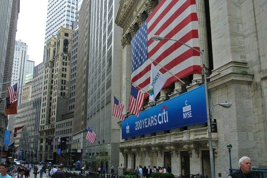 Wall Street Walks: Мировая финансовая биржа
