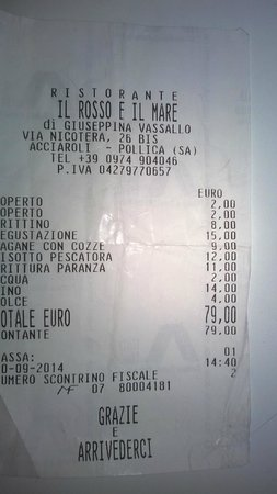 Acciaroli, İtalya: RIMASTO SENZA PAROLE
